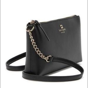 NWT Kate Spade black leather bag